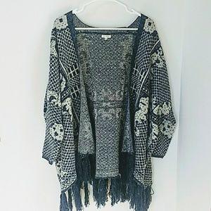 Oversized Boho Sweater